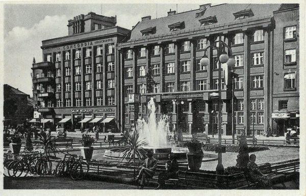 576c51e87b Pohlednice Ostrava – Concordia Allegemeine  Versicherungs-Aktien-Gesselschaft in Reichenberg   cca 1940
