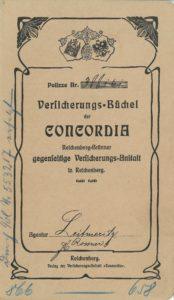 Platební knížka 1905